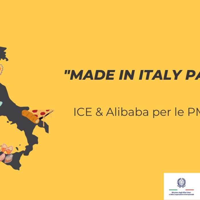 Alibaba e Made in Italy: il piano di ICE per il rilancio delle PMI