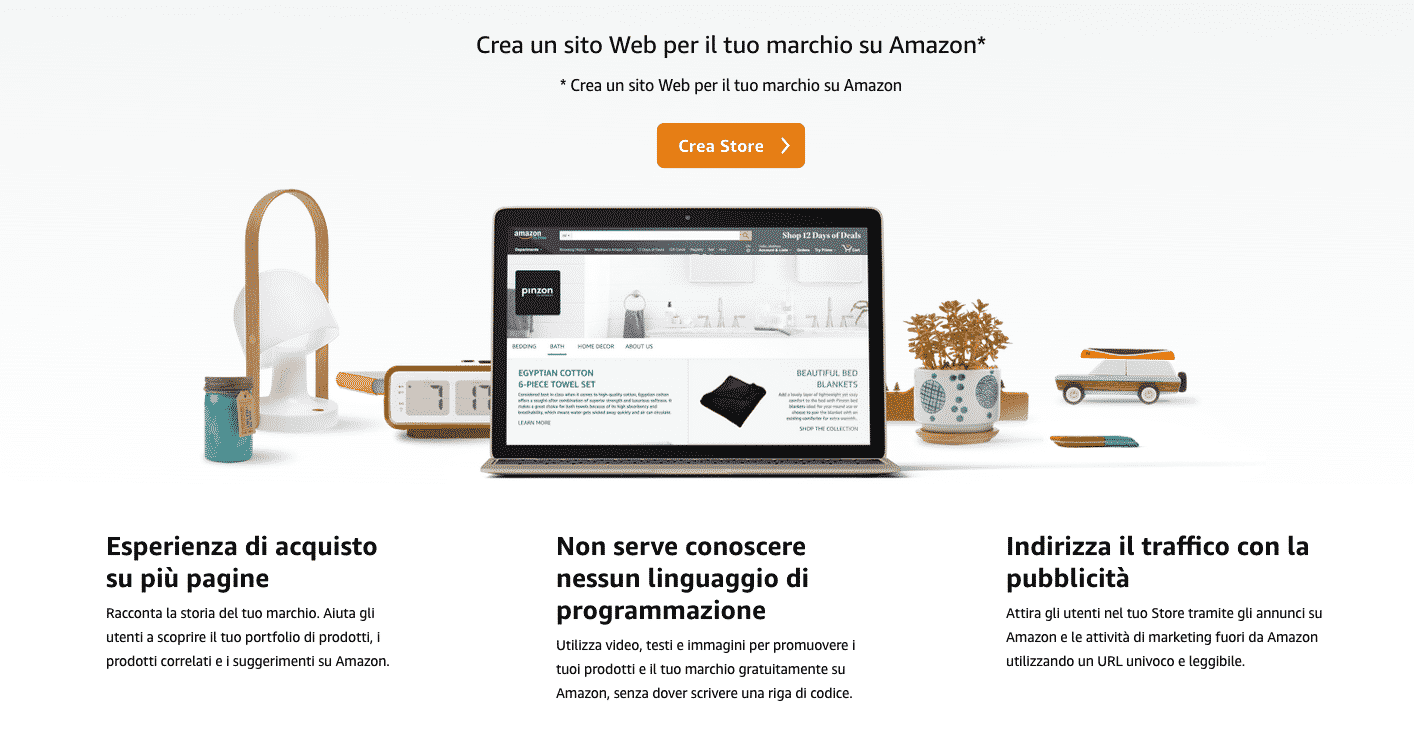 Amazon Stores per Seller e Vendor: Valorizza il Tuo Brand su Amazon