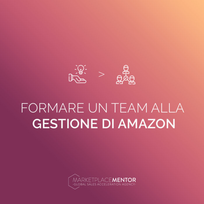Come formare un team interno alla gestione dell'account Amazon
